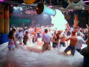 Magaluf BCM Foam Party, Mallorca