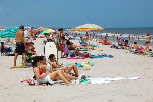 Main Beach in Fernandina Beach, Florida