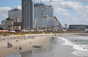 Atlantic City Beach, New Jersey