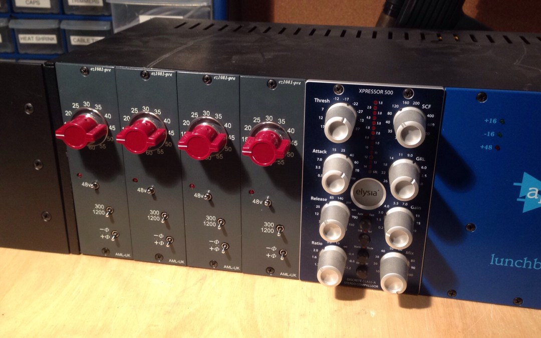 New ez1081 Mic Preamps