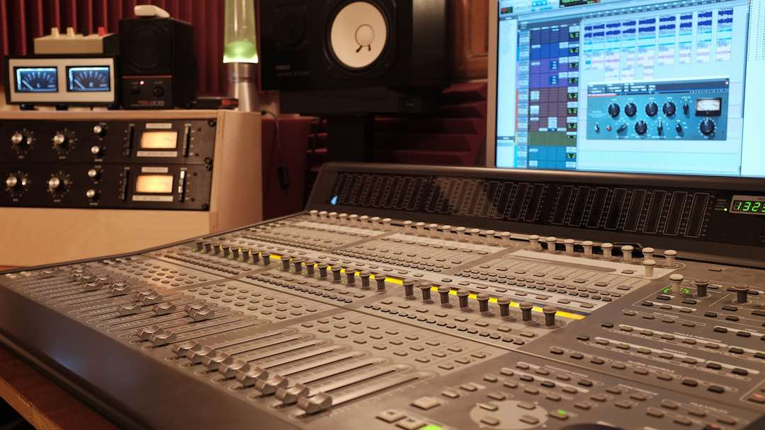 Recording a band in the studio – Part 1