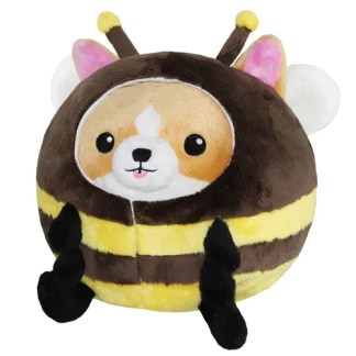 Undercover Corgi in Bee Costume
