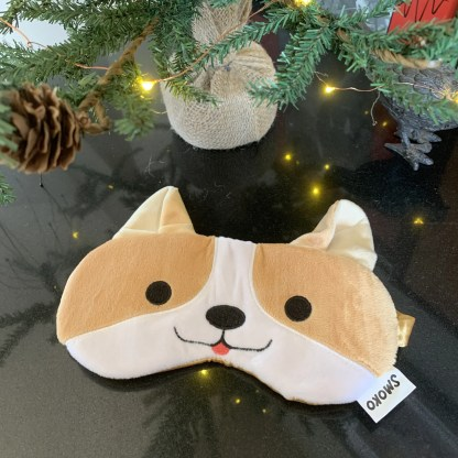 Smoko Corgi Eye Mask