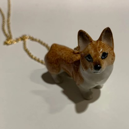 Sable Corgi Necklace