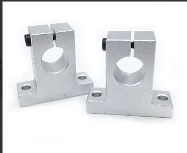 Soporte Sk12 Para Varilla Lisa 12mm, 3d, Cnc, Chumacera Piso