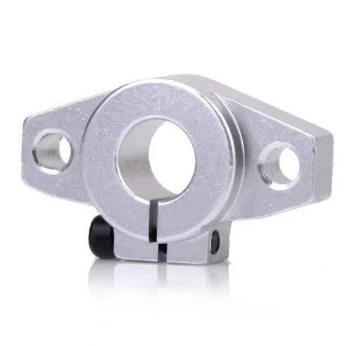 Soporte De Pared Shf12 Para Varilla Lisa 12mm, Cnc Laser, 3d