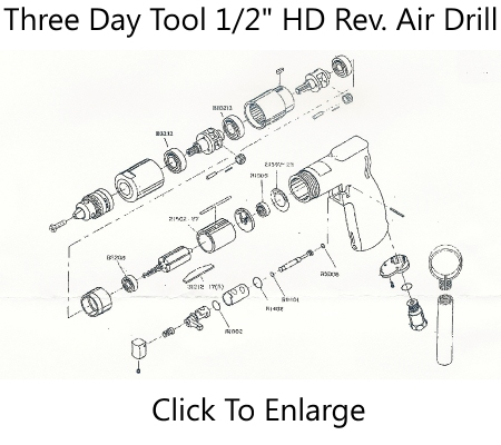 1/2 Rev Air Drill Schematic Three Day Tool