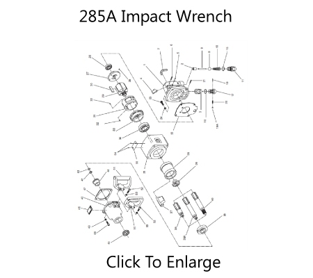 285A Impact Wrench Schematic Three Day Tool