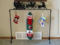 Kirkland's Santa Stocking Holder - Holiday Decorating ...