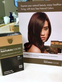 ONC Coloring Products, a Natural Hair Color that's