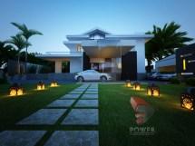 High Class Modern Villa 3d Interior Design