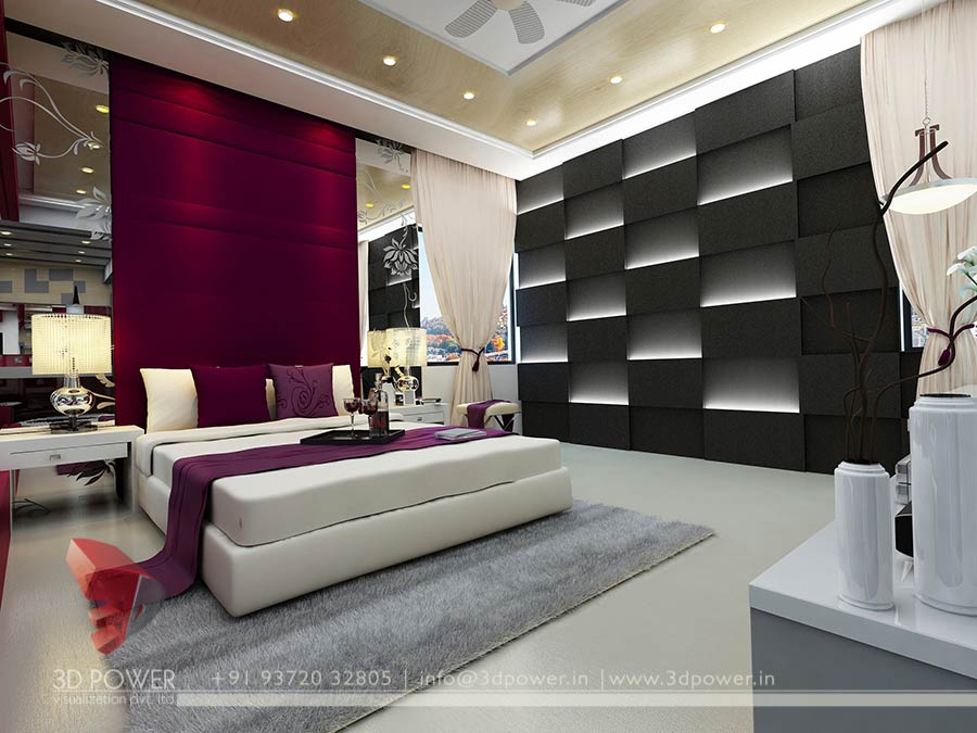 living room decorating ideas indian style grey and light blue 3d interior elevation | modern ...