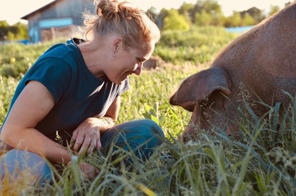 Elecia - Three Forks Farm - Bobcaygeon Farm, Kawartha Lakes