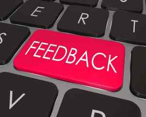How do you handle negative feedback?
