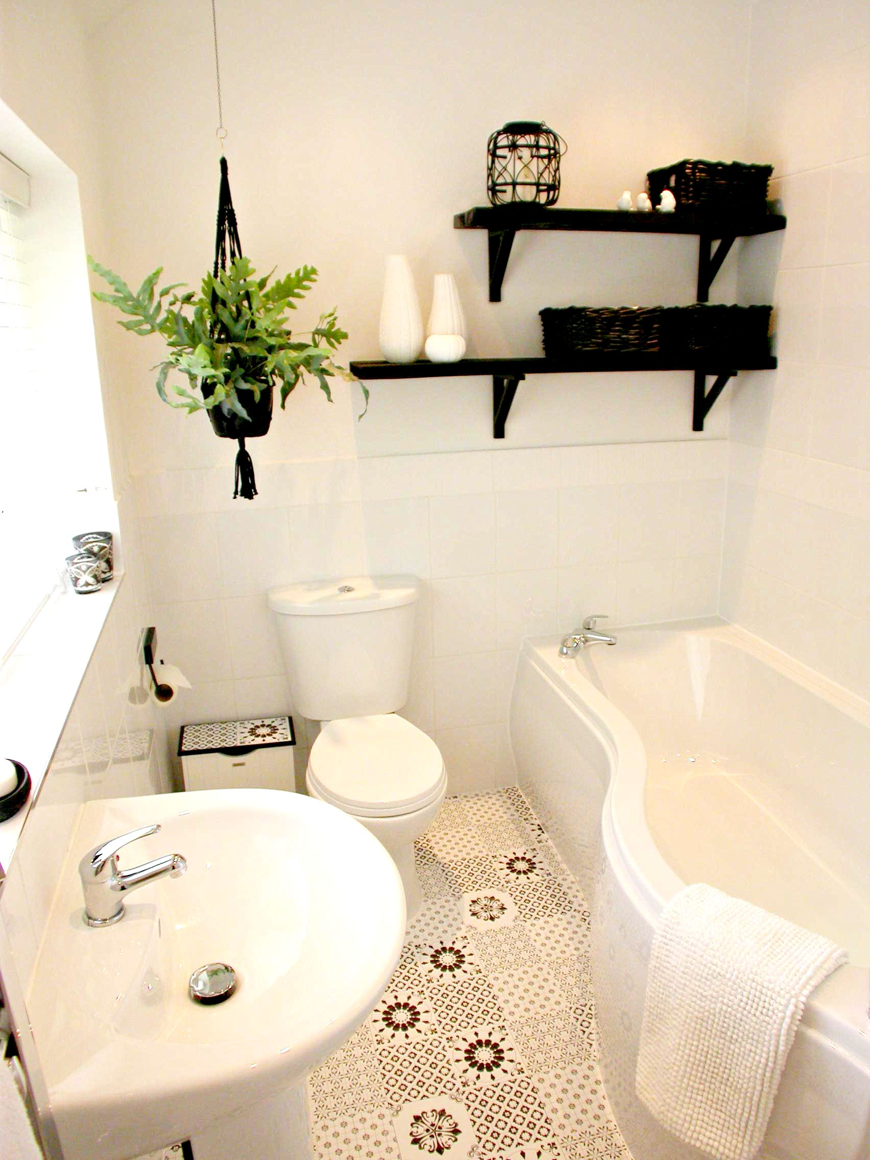 Bathroom makeover on a budget  Three Interiors