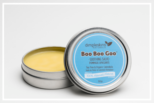 Dimpleskins salve,ointment,balm for boo boos