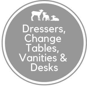 Dressers, Change Tables, Vanities & Desks
