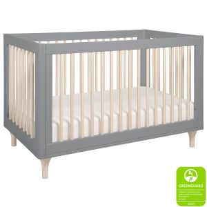 Babyletto Lolly Crib Grey Washed Natural