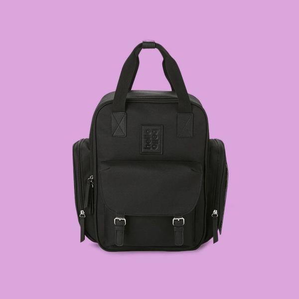 Diaper Backpack in Black