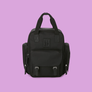 Diaper Backpack in Black
