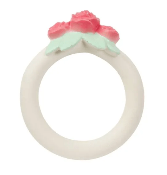 Teething Ring: Rose Bud