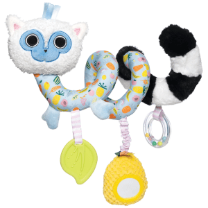 Manhatten Toy Co. Lemur Baby Spiral Toy