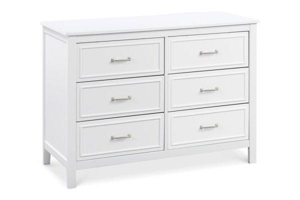 Charlie 6 Drawer Dresser - White