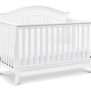 EMMETT White 4-in-1 Convertible Crib