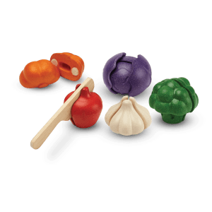 PlanToys 5 COLORS VEGGIE SET