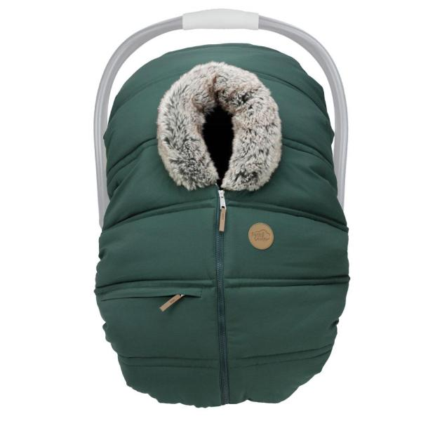 Winter Baby Car Seat Cover – Boreal Wolf