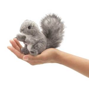 mini grey squirrel
