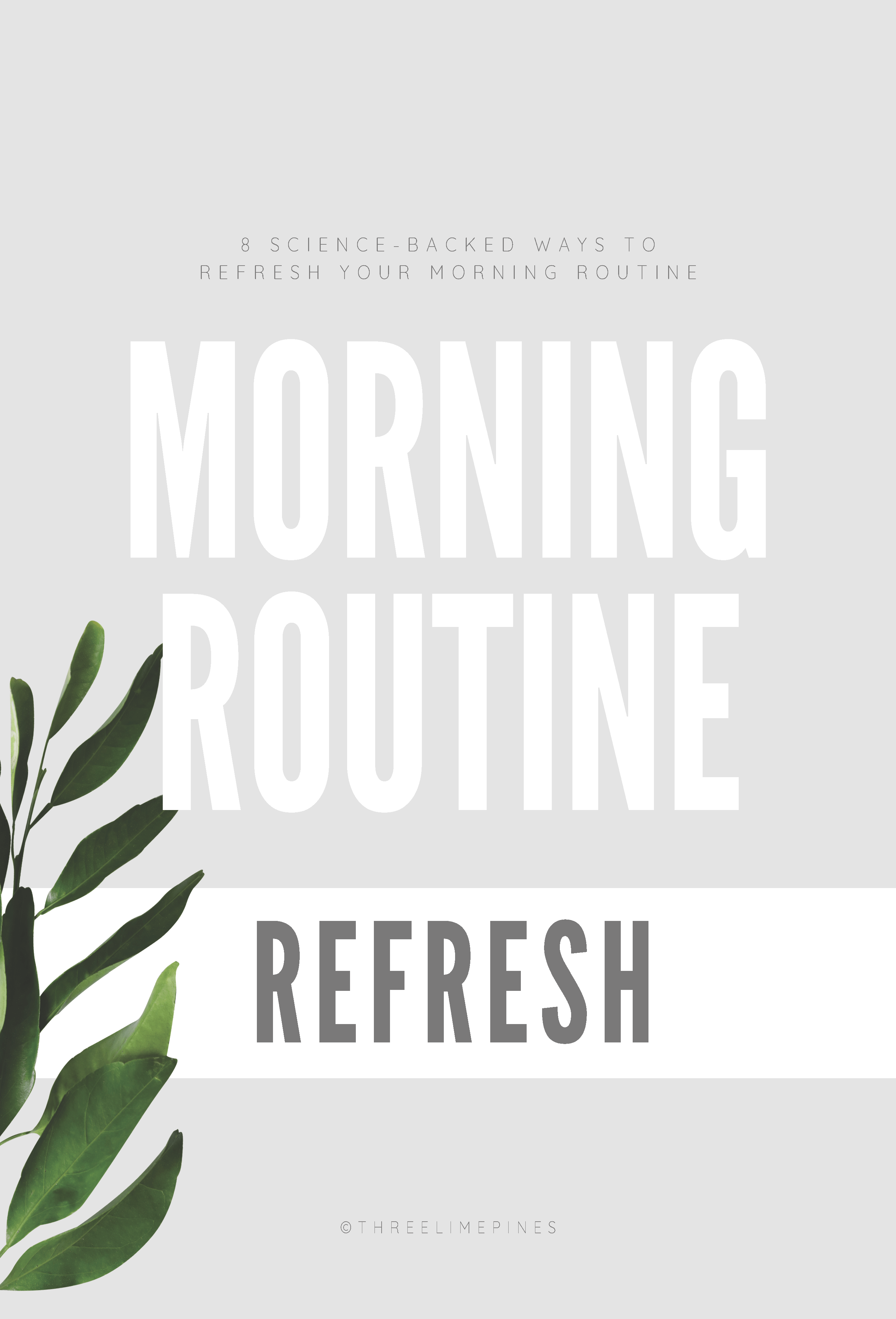Morning Routine Refresh