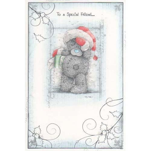 Me To You Special Friend Christmas Card