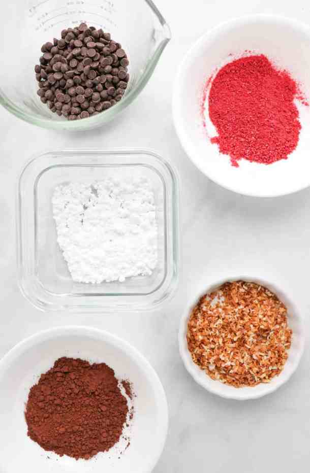 vegan chocolate truffle coatings