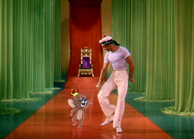 Image result for kelly and jerry dancing in anchors aweigh