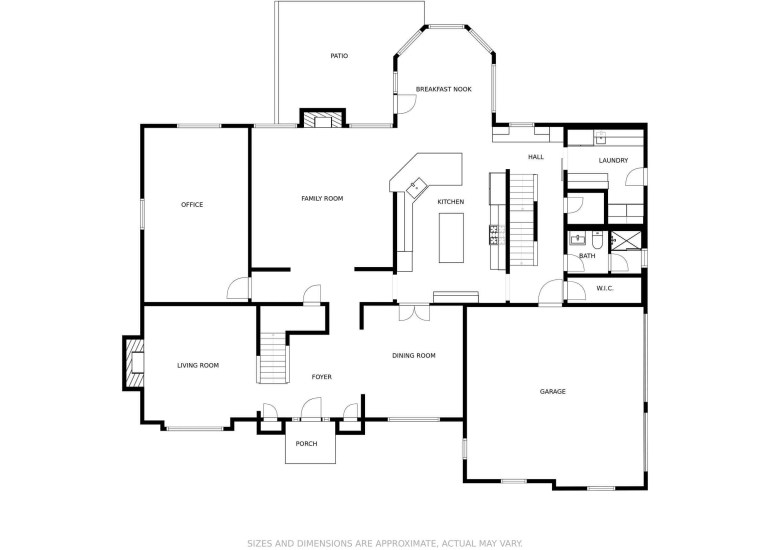 Property floor plan of a listing for sale