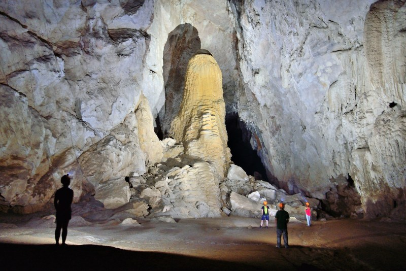 Son Doong Cave, the worlds largest cave in Phong Na Ke Bang National Park