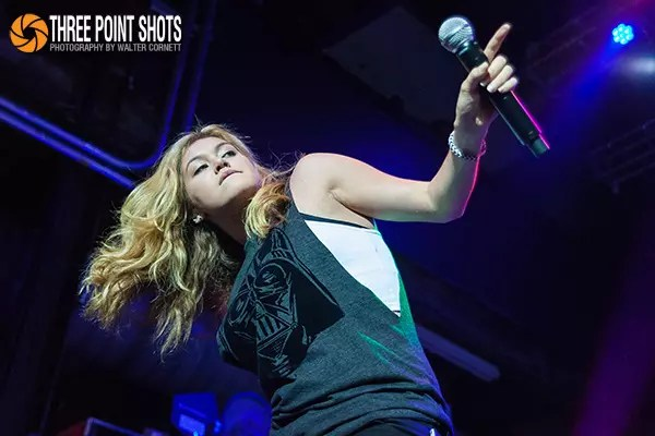 Guinevere opened for Jesse McCartney on his In Technicolor Tour at the Mercury Ballroom in Louisville, Kentucky on July 29, 2014. All photos by Walter Cornett.