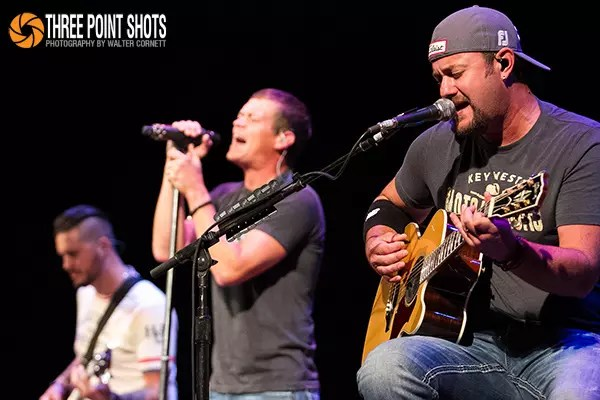 "3 Doors Down finished up their acoustic tour entitled ""Songs from the Basement"" at the Louisville Palace on September 11, 2014. All photos by Walter Cornett."