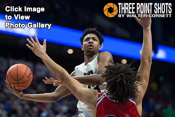 2019 Whitaker Bank/KHSAA Boys' Sweet 16®, Trinity vs Scott County, March 10, 2019, Lexington, Kentucky, USA. Photo by Walter Cornett / Three Point Shots / KHSAA
