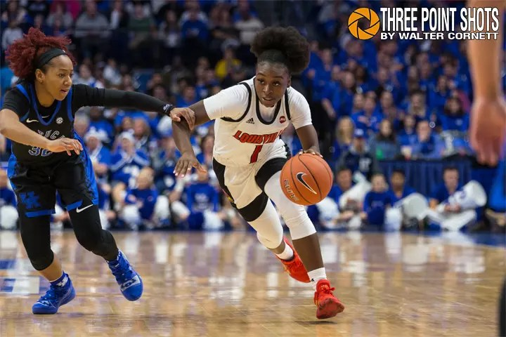 Louisville vs Kentucky, December 15, 2019, Lexington, Kentucky, USA. Photo by Walter Cornett/Three Point Shots. Please tag freely. Watermarked images are free to use but please do not alter image or remove the watermark.