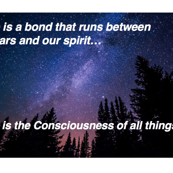 Consciousness of all things
