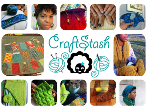I loved CraftStash already, and it's even more better with Kate of Gourmet Stash chatting with K*m!