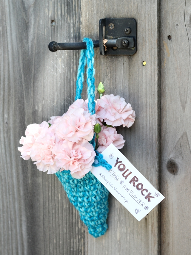 Get your bloom on! And give some away! Photo: One Sheepish Girl