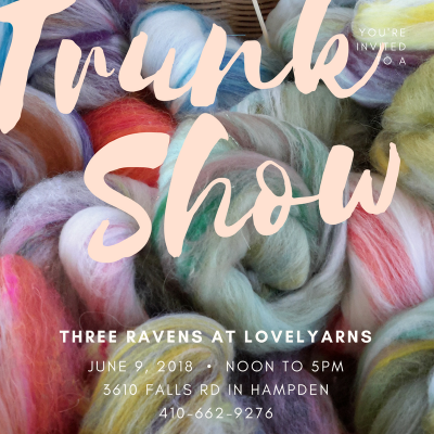 trunk show at Lovelyarns