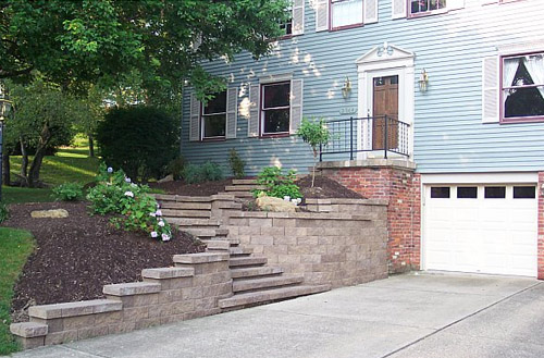 Installing Retaining Walls and Patios for Greater