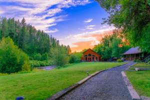 Three Rivers Ranch, Luxury Fly Fishing Lodge in Idaho