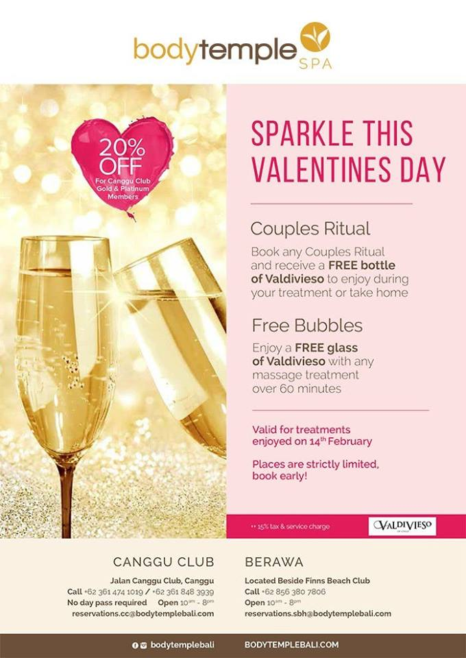 sparkle this valentines day Body temple