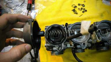 carburación y tijas