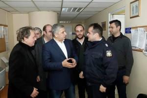 Την Ελευσίνα επισκέφθηκε σήμερα ο υποψήφιος Περιφερειάρχης Αττικής Γιώργος Πατούλης